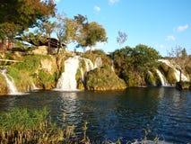 Parque nacional de Paklenica da cachoeira Fotografia de Stock Royalty Free