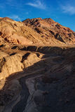 Parque nacional de Palette Death Valley do artista foto de stock