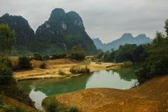 Parque nacional de Phong Nha Imágenes de archivo libres de regalías
