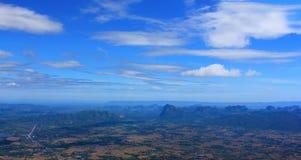 Parque nacional de Phu Kraduang Fotos de archivo libres de regalías