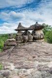 Parque nacional de Phu Pha Thoep em Tailândia Fotos de Stock