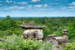 Parque nacional de Phu Pha Thoep em Tailândia Fotografia de Stock