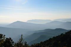 Parque nacional de Phu Ruea Fotografía de archivo