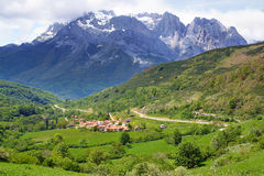 Parque nacional de Picos de Europa Fotografia de Stock Royalty Free