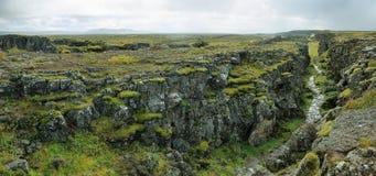 Parque nacional de Pingvellir en Islandia Imagen de archivo