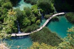 Parque nacional de Plitvice Imagens de Stock