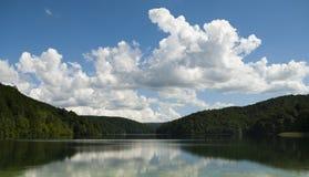 Parque nacional de Plitvice (Croácia) Fotografia de Stock Royalty Free