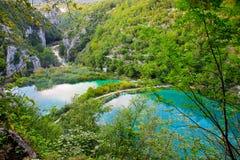 Parque nacional de Plitvice na Croácia Fotografia de Stock Royalty Free