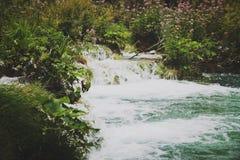 Parque nacional de Plitvicka Jezera Foto de archivo