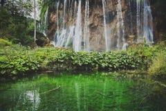Parque nacional de Plitvicka Jezera Foto de archivo libre de regalías
