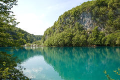Parque nacional de Plivcie Fotos de Stock