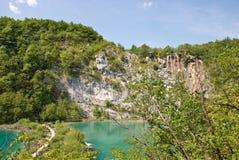 Parque nacional de Plivcie Foto de Stock