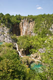 Parque nacional de Plivcie Fotografia de Stock