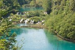 Parque nacional de Plivcie Imagens de Stock Royalty Free