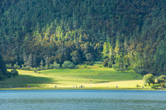 Parque nacional de Potatso, Shangri-La Foto de Stock Royalty Free