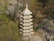 Parque nacional de Qianshan, China Fotografía de archivo libre de regalías