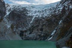 Parque Nacional de Queulat, Carretera austral, route 7, Chili Photos stock