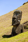 Parque nacional de Rapa Nui Foto de Stock