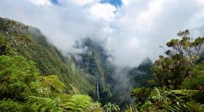 Parque nacional de Reunion Island Foto de Stock Royalty Free