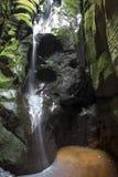 Parque nacional de rocas de Adrspach-Teplice Ciudad de la roca República Checa Fotografía de archivo libre de regalías