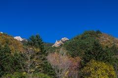 Parque nacional de Seoraksan Foto de archivo libre de regalías