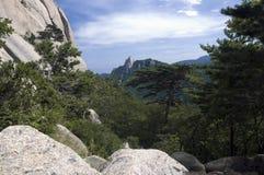 Parque nacional de Seoraksan, Coreia do Sul imagens de stock royalty free