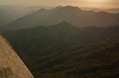 Parque nacional de Sequoia, Califórnia, EUA Fotografia de Stock