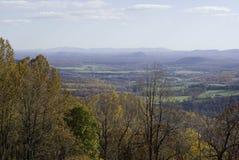Parque nacional de Shenandoah en otoño Imagen de archivo libre de regalías