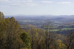 Parque nacional de Shenandoah no outono Imagem de Stock Royalty Free