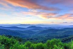 Parque nacional de Shenandoah - Virgínia fotografia de stock