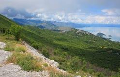 Parque nacional de Skadar del lago Foto de archivo