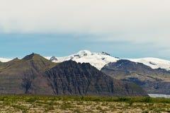 Parque nacional de Skaftafell Imagem de Stock