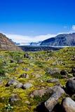 Parque nacional de Skaftafell, geleira Imagens de Stock Royalty Free