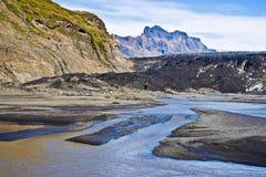Parque nacional de Skaftafell, geleira Imagem de Stock Royalty Free