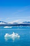 Parque nacional de Skaftafell, lagoa de Jökulsárlón. Fotos de Stock