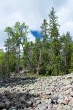 Parque nacional de Skuleskogen, Hoega Kusten, Suécia Fotografia de Stock