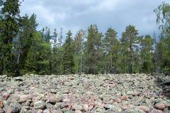 Parque nacional de Skuleskogen, Hoega Kusten, Suécia Fotos de Stock