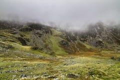 Parque nacional de Snowdonia en País de Gales Fotos de archivo libres de regalías