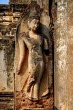 Parque nacional de Sukhothai de la estatua enorme de Buda Imagen de archivo libre de regalías