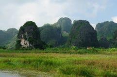 Parque nacional de Tam Coc Imagen de archivo