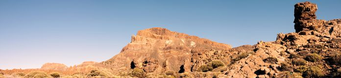 Parque nacional de Teide Imagen de archivo
