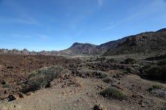 Parque nacional de Teide Fotografia de Stock