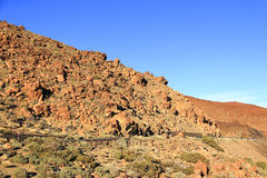 Parque nacional de Teide Fotografia de Stock Royalty Free