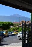 Parque nacional de Teide Tenerife, Ilhas Canárias, Spain Imagem de Stock