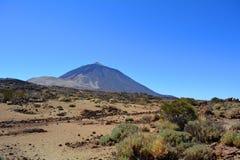Parque nacional de Teide Tenerife, Ilhas Canárias, Spain Foto de Stock