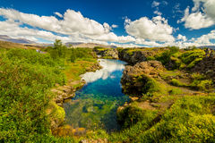 Parque nacional de Thingvellir Imagenes de archivo