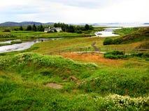 Parque nacional de Thingvellir (Islândia) Foto de Stock Royalty Free