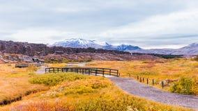 Parque nacional de Thingvellir, Islandia Imagenes de archivo