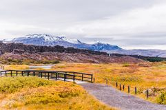 Parque nacional de Thingvellir, Islandia Fotos de archivo