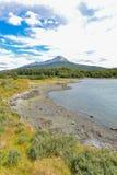 Parque nacional de Tierra del Fuego Fotografia de Stock